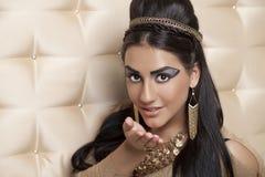 The Egyptian Queen Cleopatra Stock Photos