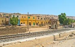 The Egyptian railway Stock Photo