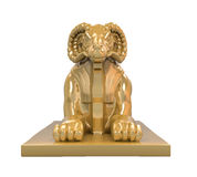 Egyptian Ram Headed Sphinx Statue Stock Photography