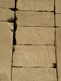 Egyptian relief royalty free stock photography