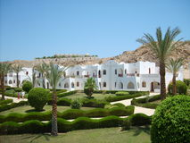 Egyptian resort Royalty Free Stock Photos