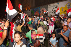 Egyptian revolution Stock Photo