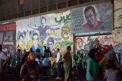 Egyptian revolution grafite Royalty Free Stock Photography