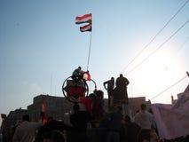 Egyptian Revolution - January 25 Royalty Free Stock Photos