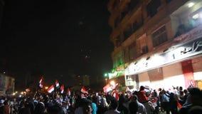 Egyptian revolution 25 January 2014 stock footage