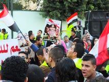 Egyptian revolution 25 January Stock Image