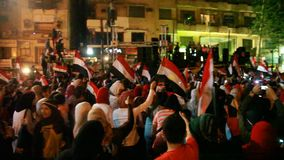 Egyptian revolution Royalty Free Stock Photography