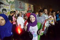 Egyptian revolution Royalty Free Stock Photo