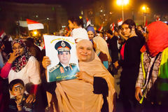 Egyptian revolution Royalty Free Stock Photos