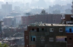 Egyptian roofs Royalty Free Stock Photo