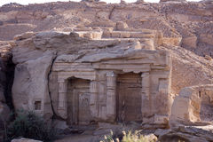 Egyptian ruins Stock Image