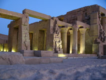 The Egyptian ruins Stock Photo