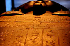 Egyptian Sarcophagus Royalty Free Stock Photo