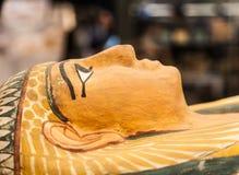 Egyptian sarcophagus Stock Photo