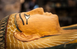 Egyptian sarcophagus Royalty Free Stock Image