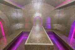 Egyptian sauna rasul. Beautiful interior of traditional egyptian sauna rasul Royalty Free Stock Images