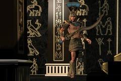 Egyptian Scorpion God Stock Image