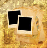 Egyptian scrapbook template Stock Images