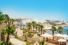 Egyptian Sea View Royalty Free Stock Images
