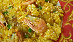 Egyptian seafood rice Royalty Free Stock Photos