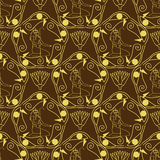 Egyptian seamless pattern Stock Image