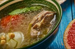 Egyptian Shank soup Royalty Free Stock Image