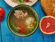 Egyptian Shank soup Stock Images