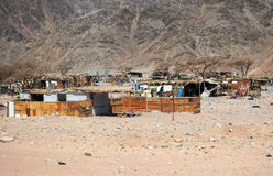 Egyptian shanty town Royalty Free Stock Image