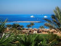 Egyptian shore Royalty Free Stock Photography