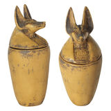 Egyptian souvenir vessels. Stock Image