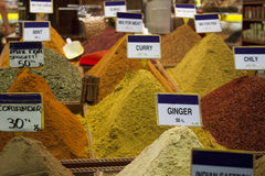 EGYPTIAN SPICE BAZAAR Royalty Free Stock Photo