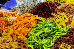 Egyptian Spice Bazaar In Istanbul Turkey Stock Photo