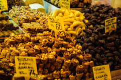 Egyptian Spice Bazaar In Istanbul Turkey Royalty Free Stock Photos