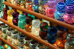 Egyptian Spice Bazaar In Istanbul Turkey Stock Photos