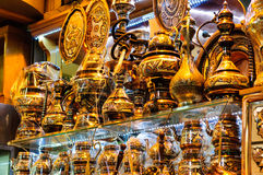 Egyptian Spice Bazaar In Istanbul Turkey Royalty Free Stock Photography