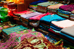 Egyptian Spice Bazaar In Istanbul Turkey Stock Photography