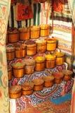 Egyptian spice market Stock Photo