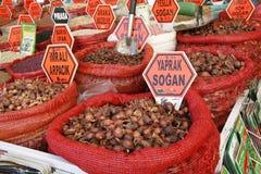 Egyptian spice market. Istanbul Royalty Free Stock Photo