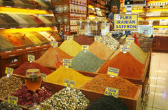 Egyptian spice market. Istanbul Stock Photos