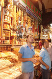 Egyptian spice market. Istanbul Royalty Free Stock Photo