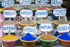 Egyptian spices royalty free stock image