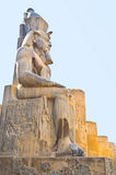The Egyptian statue Royalty Free Stock Image
