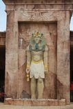 Egyptian statue idol of Anubis Royalty Free Stock Photos
