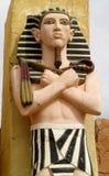Egyptian statue Stock Photo