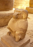 Egyptian statue of monkey Royalty Free Stock Images