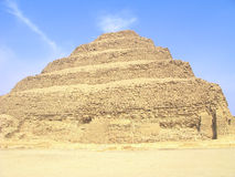 Egyptian Step Pyramid Royalty Free Stock Photography