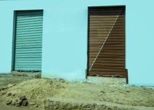 Egyptian Storage Doors. Isolated Image royalty free stock photography