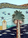 Egyptian street art Stock Image