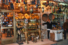 Egyptian street Stock Photo