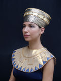 Egyptian style model Stock Photography